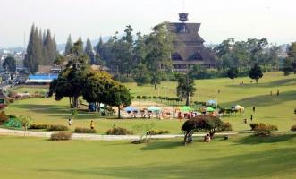 bukit kubu hotel and resort, berastagi