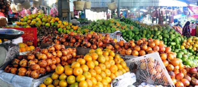 pasar buah, berastagi