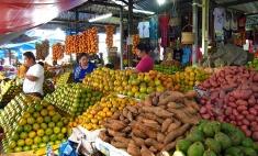pasar buah, mejuah-juah stage - berastagi